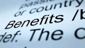 AS9100 Benefits Definition Closeup